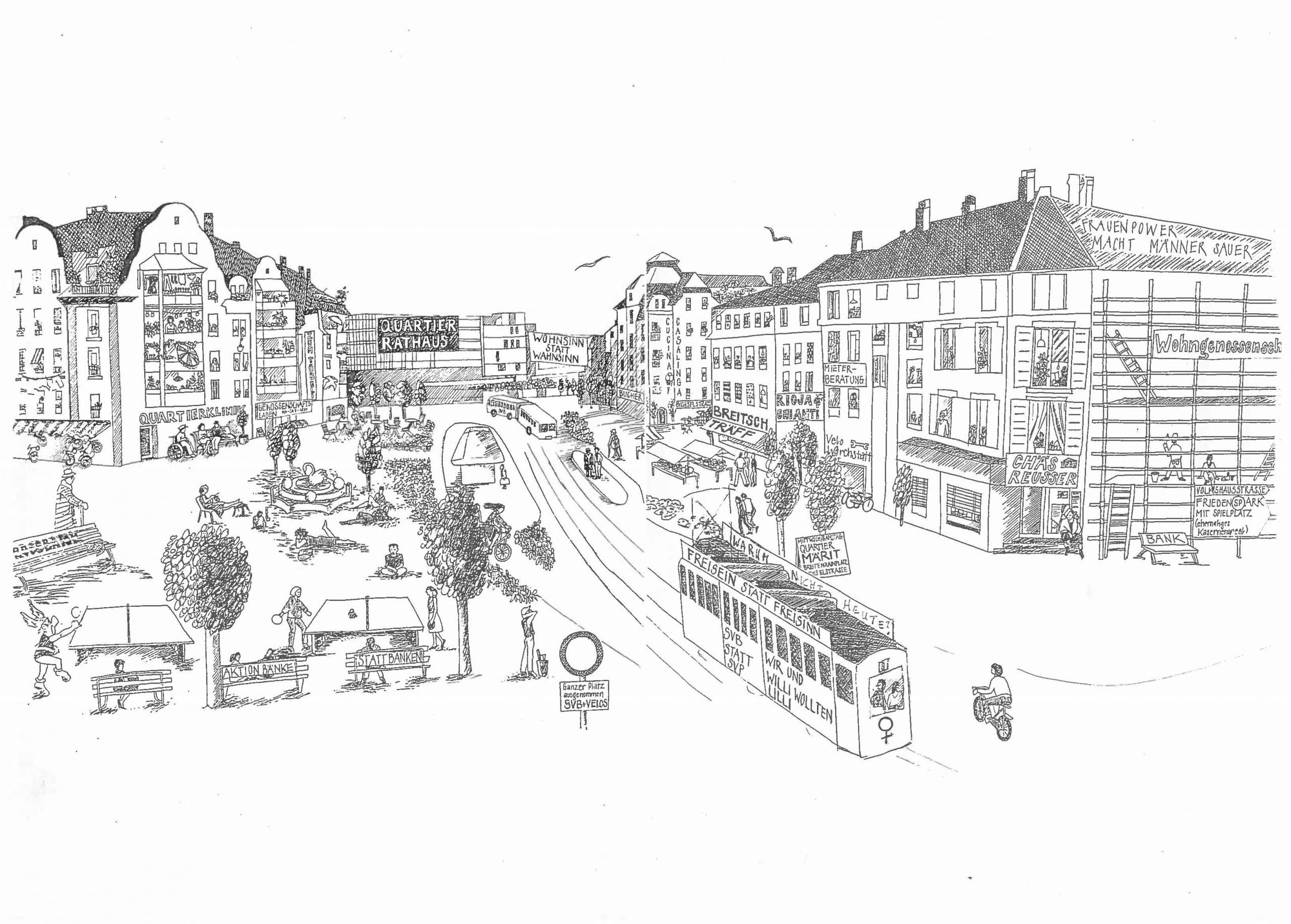 """Jubiläumspodium """"Wie sehen Quartierzentren ihre Zukunft?"""""""
